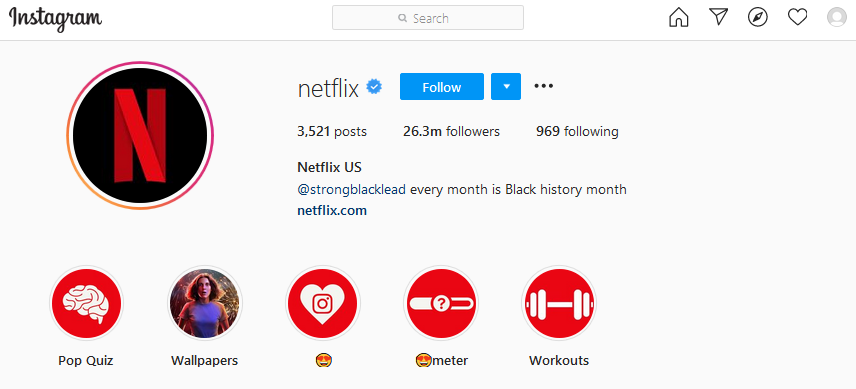 amazing-instagram-for-business-account-example
