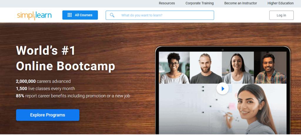 simplilearn-online-classes-platform