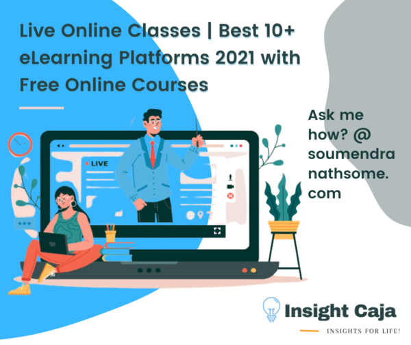 Live Online Classes | Best 10+ eLearning Platforms 2021 with Free Online Courses