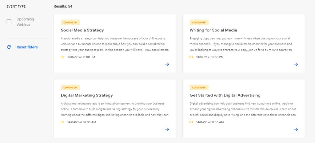 google-digital-garage-online-classes-platform-live-online-courses