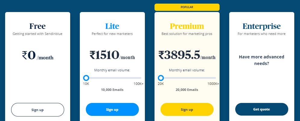 sendinblue-email-marketing-tool-price
