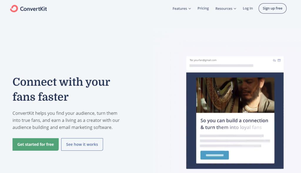 convertkit-email-marketing-tool